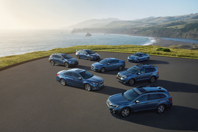 2018 Subaru 50th Anniversary Editions