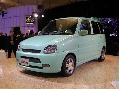 Subaru Pleo Surfing concept Tokyo 2001