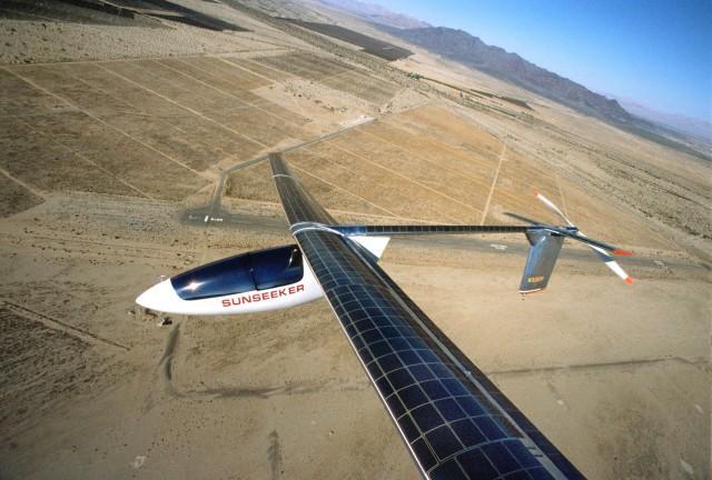 Sunseeker solar glider (Image: Solar Flight)