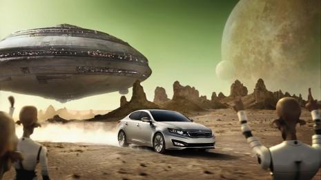 Super Bowl ad for the 2011 Kia Optima