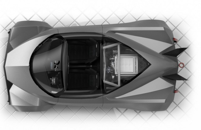 Supercar System fully-configurable V-8 supercar