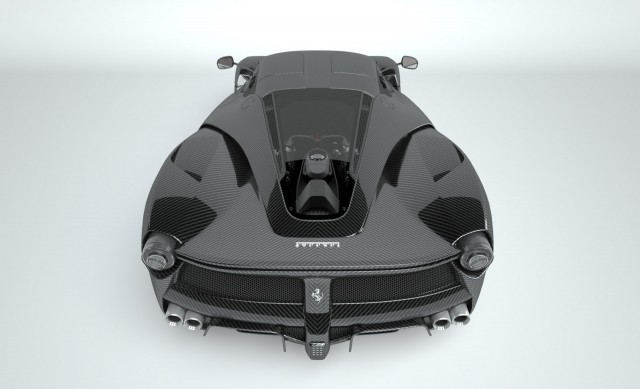 Supercars rebodied in pure carbon fiber by Vitesse-AuDessus