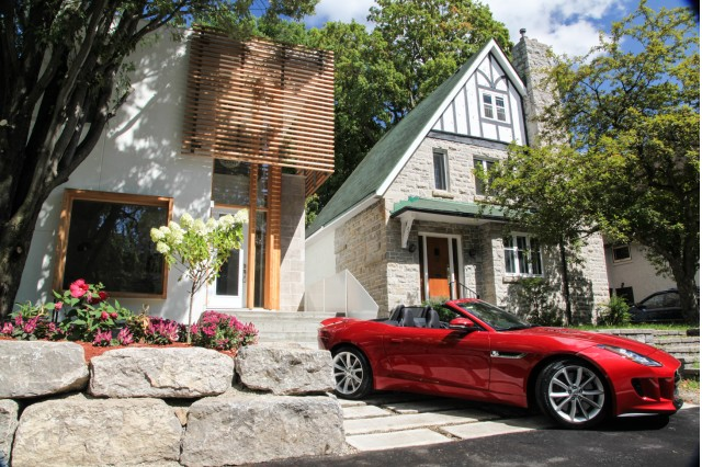 Surface Developments 211 Melrose Avenue home comes with free Jaguar F-Type