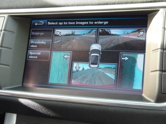 Surround Camera System, in 2012 Land Rover Range Rover Evoque