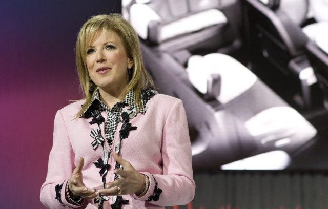 Susan Docherty, GM VP of Sales, Service and Marketing