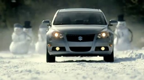 Suzuki Kizashi vs. Wicked Weather