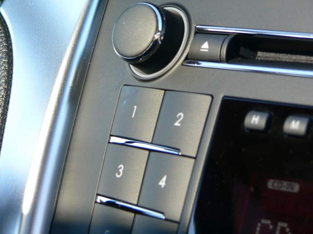 We saw a little bit of influence from Mercedes-Benz in the audio-system controls.