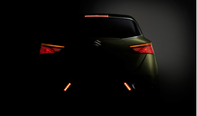 Suzuki S-Cross concept teased ahead of 2012 Paris Auto Show