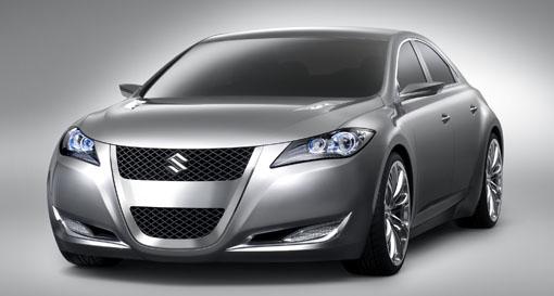 Suzuki Shows Kizashi 3 Concept