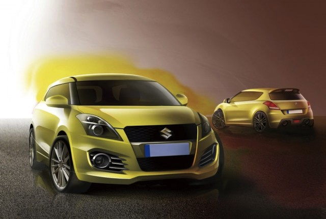 Five-Door Suzuki Swift Sport