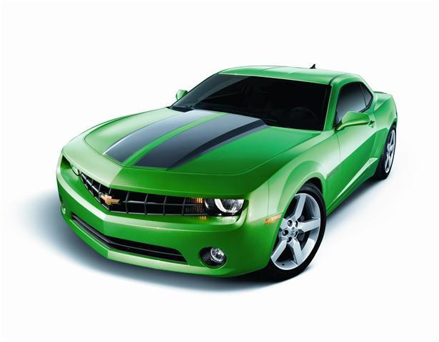 Synergy Green Camaro