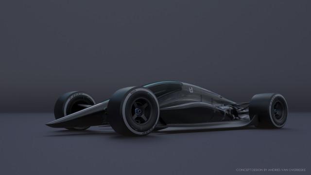 T1 Turbine concept race car