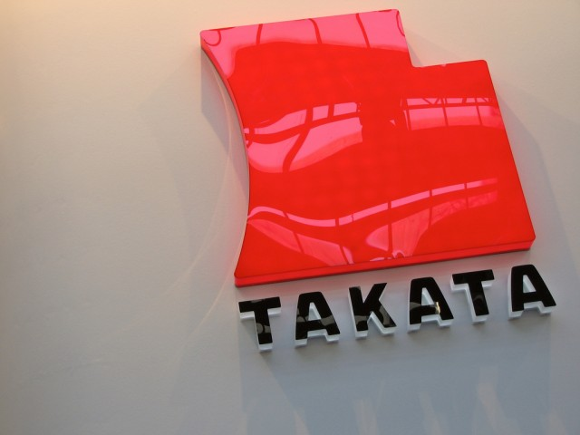 Takata logo (photo by Flickr user jo.schz)