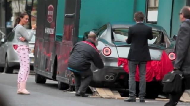 Tamara Ecclestone takes delivery of Ferrari 599 GTO