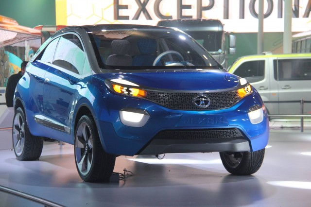 Tata Nexon concept [Photo courtesy of MotorBeam].