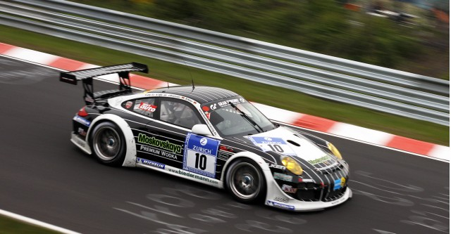 Team Manthey Porsche 911 GT3 R at the 2012 Nürburgring 24 Hours