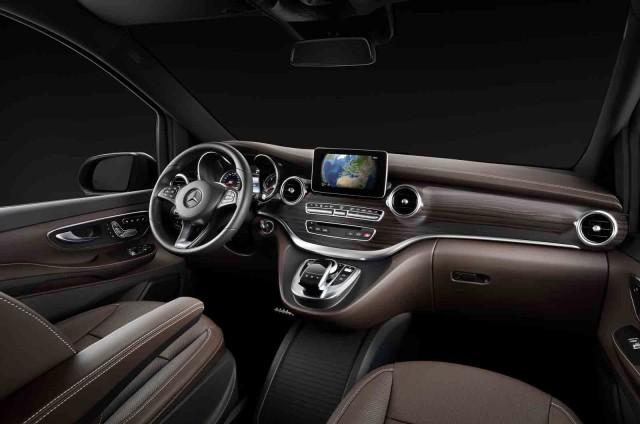 Teaser for 2014 Mercedes-Benz V-Class