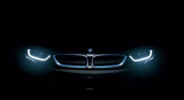 Teaser for 2015 BMW i8