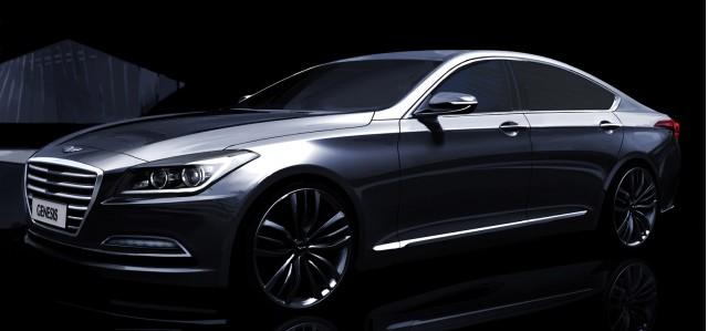 Teaser for 2015 Hyundai Genesis