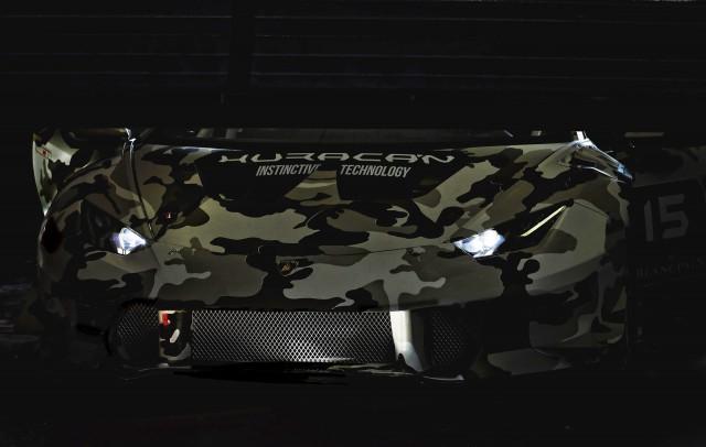 Teaser for 2015 Lamborghini Huracán LP 610-4 Super Trofeo race car