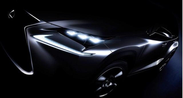 Teaser for 2015 Lexus NX