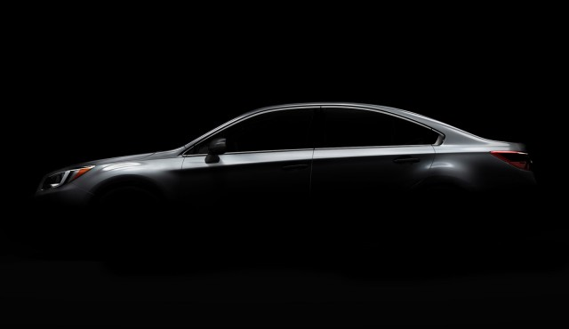 Teaser for 2015 Subaru Legacy