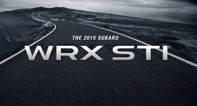 Teaser for 2015 Subaru WRX STI