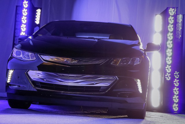 Teaser for 2016 Chevrolet Volt