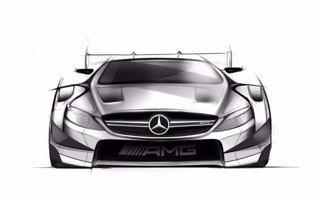 Teaser for 2016 Mercedes-AMG C63 DTM race car