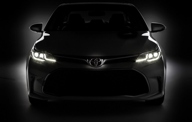 Teaser For 2016 Toyota Avalon Debuting At 2017 Chicago Auto Show