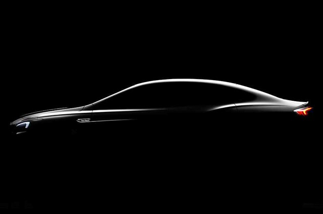 Teaser for 2017 Buick LaCrosse debuting at 2015 Los Angeles Auto Show