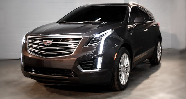 2017 Cadillac Xt5 Revealed In First Official Photos
