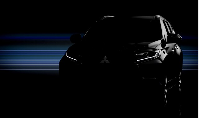 Teaser for 2017 Mitsubishi Montero Sport debuting at 2015 Bangkok Auto Show