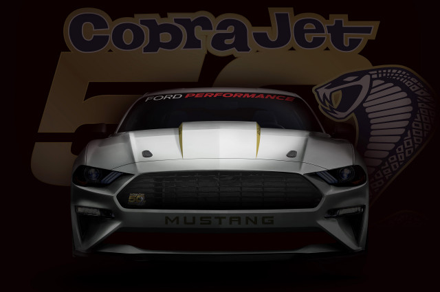 Ford teases Mustang Cobra Jet - 'mid-8-second' quarter mile