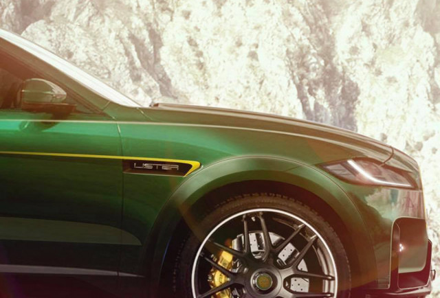 Teaser for 2019 Lister Lightning