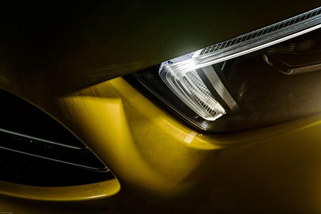 Teaser for 2019 Mercedes-AMG A35 hatchback