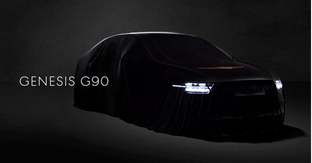 Teaser for 2020 Genesis G90