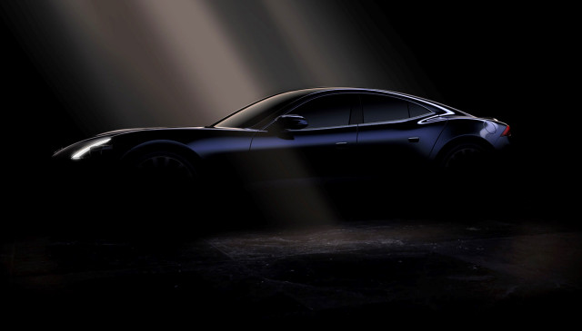 Teaser for 2020 Karma Revero debuting at 2019 Shanghai auto show