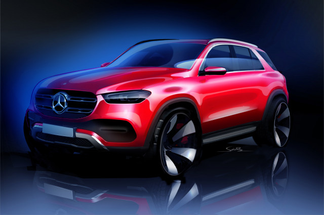 Teaser for 2020 Mercedes-Benz GLE