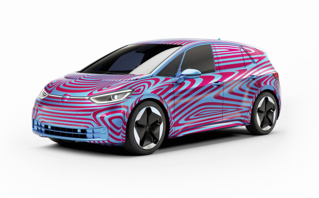 VW names fully electric hatchback ID 3, starts taking deposits in Europe