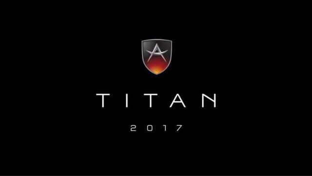 Teaser for Apollo 'Titan' debuting at 2017 Geneva auto show