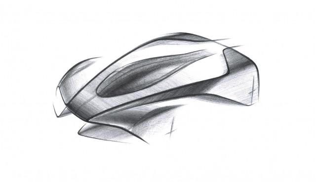 Teaser for Aston Martin 003 hypercar debuting in 2021