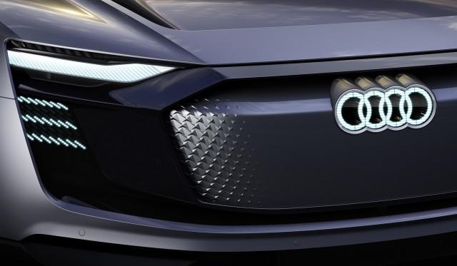 Audi e-tron Sportback concept, 2017 Shanghai auto show