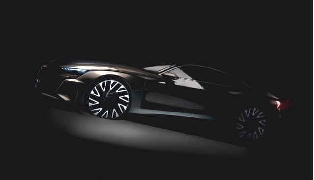 Teaser for Audi e-tron GT