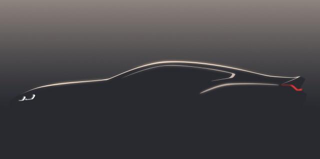 Teaser for BMW 8-Series-previewing concept debuting at 2017 Concorso d'Eleganza Villa d'Este