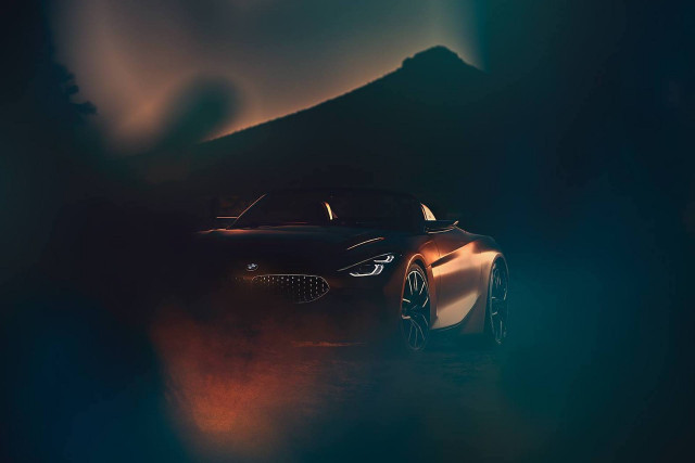 Teaser for BMW concept debuting at 2017 Pebble Beach Concours d'Elegance