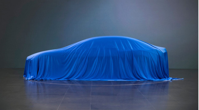 Teaser for BMW i concept debuting at 2017 Frankfurt auto show