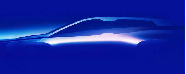 Teaser for BMW iNext debuting in 2021
