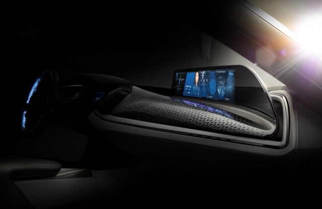 Teaser for BMW Vision Car concept debuting at 2016 Consumer Electronics Show