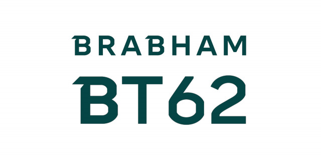 Teaser for Brabham BT62 debuting in May 2018
